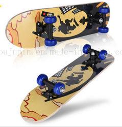 OEM Imprimir Los Niños Los niños de 4 ruedas de madera de Maple Skate Skateboard