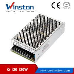 مصدر طاقة تحويل الخرج رباعي من الفئة Q-120 بقدرة 120 واط مع CE