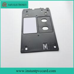 Plateau de la carte en PVC d'impression d'encre pour imprimante jet d'encre Canon MG5550