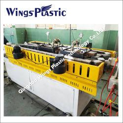 الماكينات البلاستيكية/PE/PP خط طرد الأنابيب المضلع مزدوج الجدار