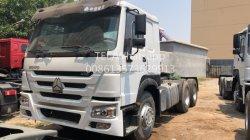 Movimiento rápido de buena calidad 371HP 10 de 20 toneladas de neumáticos 6X4 Sinotruck HOWO Tractor usado la carretilla con un bajo precio