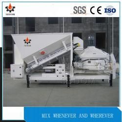pianta d'ammucchiamento concreta mobile di 10m3/H Mc1200 per il progetto di costruzione