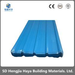 La couleur de profilage galvanisé Revêtement de toit en tôle en métal