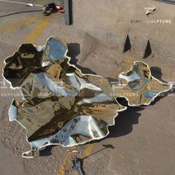 Escultura em bronze fundido cera perdida com polimento