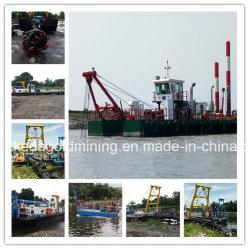 油圧18インチの川のカッターの吸引の浚渫船