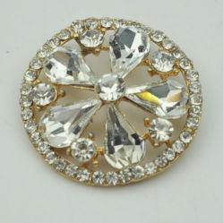 服のための方法宝石類の金属のRhinstoneボタン