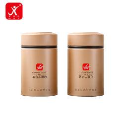 250ml d'aluminium métallique rond vide peut sèche pommade contenant de l'emballage Jar cosmétiques boîte