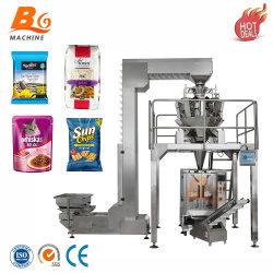Comida/batatas fritas/Data/arroz/amendoim/alimentos secos/grânulos/parafuso/alimentos congelados/secos Embalagem de alimentos/café/grão Pré-fabricada saco enchimento de embalagem Máquina de vedação