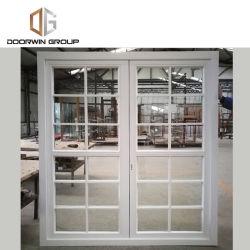 La Californie tache blanc moderne finition couleur Français pousser les portes et fenêtres avec grille