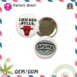 別のサイズの顧客用バッジPinの錫、Pinのバッジの/Pin円形ボタン