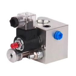 Hydraulischer Standardanhebender Aluminiumblock LL298 mit Magnetventil