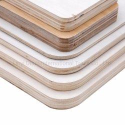家具Canbinetのための12mmの紫外線漂白されたシラカバか漂白されたポプラの合板