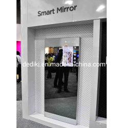 43inch de magische Video die van de Spiegel LCD Spiegel van de Reclame van de Vertoning de Digitale voor Toilet adverteren