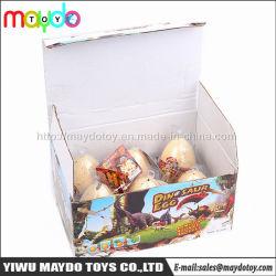 giocattoli crescenti educativi dell'uovo di dinosauro di covata dei bambini magici di 6*8cm