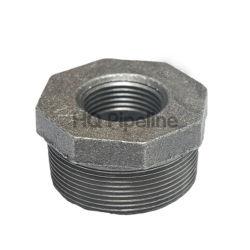 Schwarze Hex Buchse-formbares Eisen-Rohrfittings
