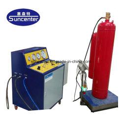 Het Vullen van het Brandblusapparaat van Co2 van Suncenter FM200 Machine