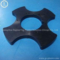 résistance à l'usure Pièces en plastique de moulage par injection de pièces de PU partie en caoutchouc