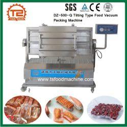 タイプ食糧を傾けるセリウムのパッケージ装置Dz500 Qはパッキング機械に掃除機をかける
