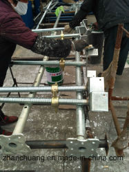 سقالة [سكرو جك] مادّة صلبة قابل للتعديل فولاذ دعائم لأنّ بناء [جك] قاعدة