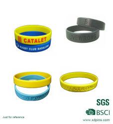Pulsera de silicona, diseño personalizado, el Popular Brazalete Pulsera