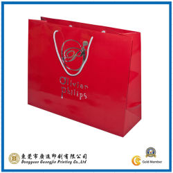 Farbe Printed Fashion Paper Bag für Shopping (GJ-Bag008)