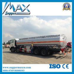Chariot de carburant Sinotruk 30cbm 8*4 290 HP Prix du pétrole lourd camion citerne