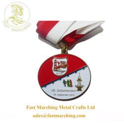 Carnaval de Fábrica Personalizada Loja executando o Prêmio Medalha de Metal de fundição