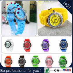 Custom Geneva Sport Siliconen Horloges Voor Dames (Dc-1020)