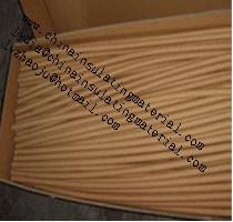 Tubo de papel Kraft aislante Crepe Crepe Papel Kraft de alta calidad