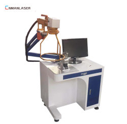 Photos 20W 30W machine de marquage au laser à fibre sur Pendentif en acier inoxydable