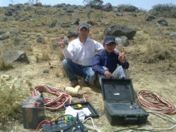 Seismograph Shallow-Layer Seismograph сейсмического оборудования (DZQ12/24/48)