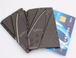 Pocket Kreditkarte-Form-Messer, faltendes Minimesser