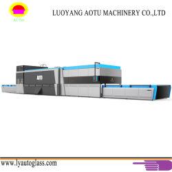 Temple eléctrico endurecimiento Seguro horno planas y curvas calefacción horno de revenido de vidrio templado de realizar el procesamiento de la máquina