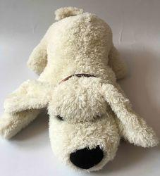 Bonitinha Plush cão para a bolsa de borracha da tampa