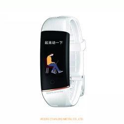E98sのスマートなブレスレットの適性トラック心拍数のテストIP67はバンドヘルスモニタリングの体温のモニタリングを防水する