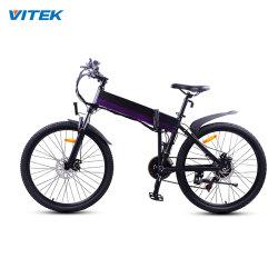 Vendita diretta in fabbrica MOQ 10 PC 26 pollici 350 W Motor Kids Bicicletta elettrica e Bike Kit pieghevole a buon mercato