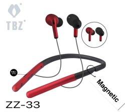 2021 새로운 이어폰형 넥밴드 Bluetooth 방수 이어버드 스테레오 무선 이어폰