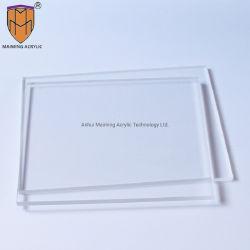 التشويه المصنّع ورق شفاف من البلاستيك الشفاف من البلاستيك الشفاف بحجم 3 مم 5 مم من البلاستيك الشفاف PMMA بحجم 2 مم