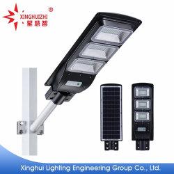 Водонепроницаемый светодиодный индикатор использования солнечной энергии для использования вне помещений IP66, IP65 прожекторов на крыше в саду учтены все в одном из 60W 120 Вт люмен освещения улиц