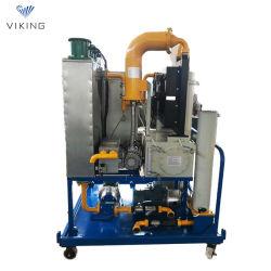 جهاز تنقية/إعادة إنتاج الزيت المستخدم بعزل مزدوج المرحلة، عازل الزيت