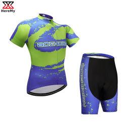 Komprimierendes Jersey-Set der Straßen-Fahrrad-Kleidungs-Fahrrad-Abnützung-kundenspezifischen Männer