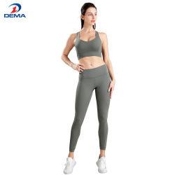 2020 최신 판매 형식 이음새가 없는 요가 한 벌 운동 착용 Sprots 착용 Tracksuit 체조 착용
