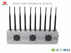 10 Antenas Lte800 GSM900 3G2100 Dispositivo de interferência de sinal de telefone celular (GW-JC10)