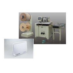 مزم - DCT 520 ماكينة ربط مزدوجة الأسلاك حلقة حلزونية ماكينة الربط لمدة دفاتر الملاحظات