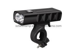 Wasserdichtes Ultra-Helles Fahrrad-Licht des USB-1000lumen nachladbares leistungsfähiges helles Fahrrad-LED