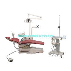 최고의 판매 치과 단위 의자 럭셔리 클리닉 치과 장비 의자