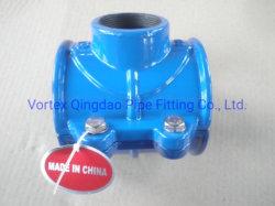 Abraçadeira tipo sela PVC Tubo de HDPE