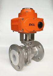 Actionneur électrique antidéflagrant Compact avec l'EXD II B T4 pour la zone de Grade 1/La Division 1