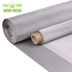 304 316 316L Ultra Fine Woven 100 Micron roestvrij staal Wire Mesh Hot Sale-producten