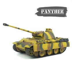 2.4G Pantera Alemão Tanque RC som modelo+fumo+personalizados de captação do Tanque de Pintura Toy